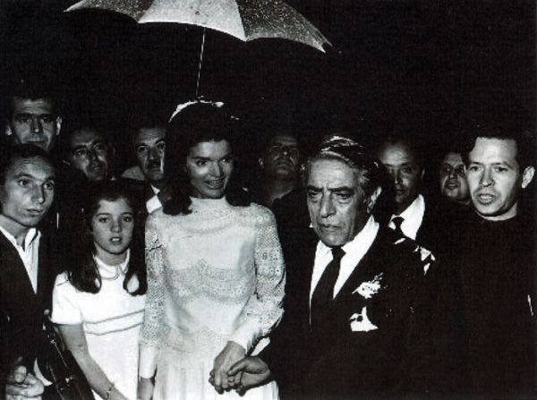 jackie aristotle onassis wedding