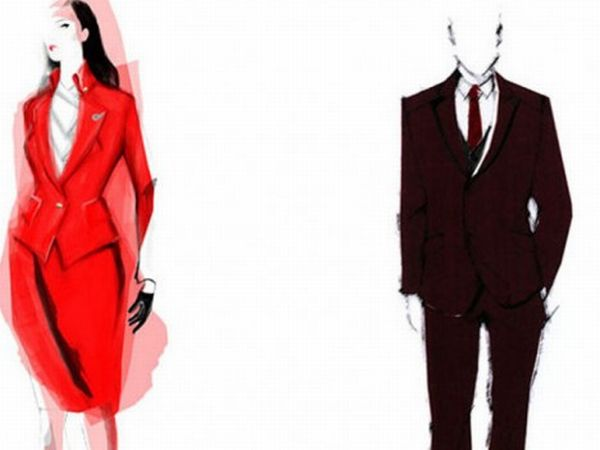 Virgin-Atlantic-uniforms-designed-by-Vivienne-Westwood