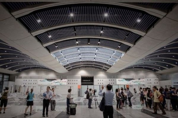 Interior of Hong-Kong's New Cruise Terminal