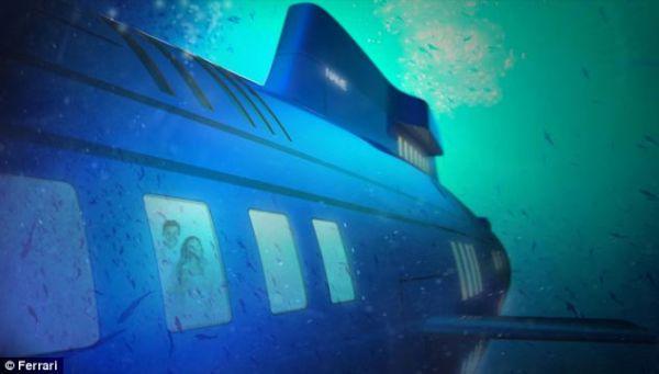 Migaloo underwater