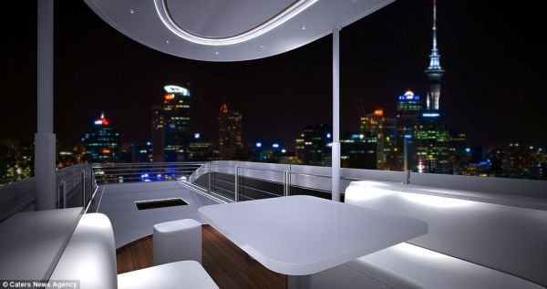 The sky Lounge on Top