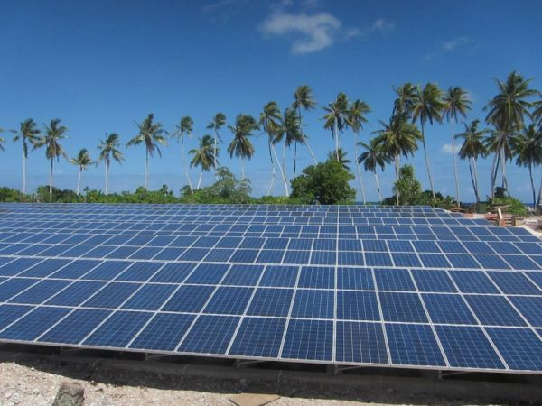 solar powered tokelau island new zealand