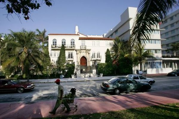 Former Miami Mansion of Gianni Versace