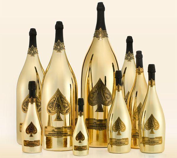 BottleService of Armand de Brignac Champagne