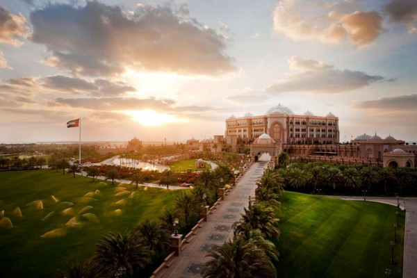 Emirates-Palace is the Location of the Event