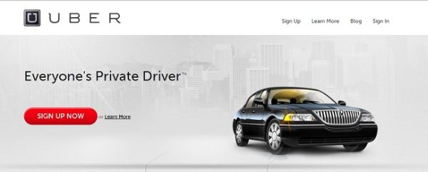 Uber's Site