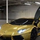 Gold-plated-Lamborghini, the Most Expensive Car in the World
