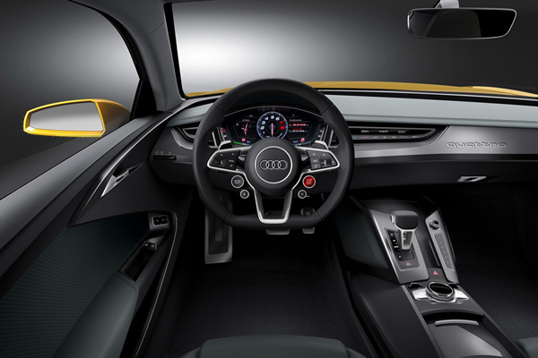 Interior of Audi Sport Quattro