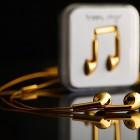 happy plugs gold plated earphones