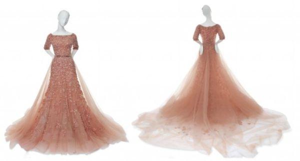 Elie Saab's Aurora gown