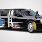 US Presidents armored cadillac-limo Beast