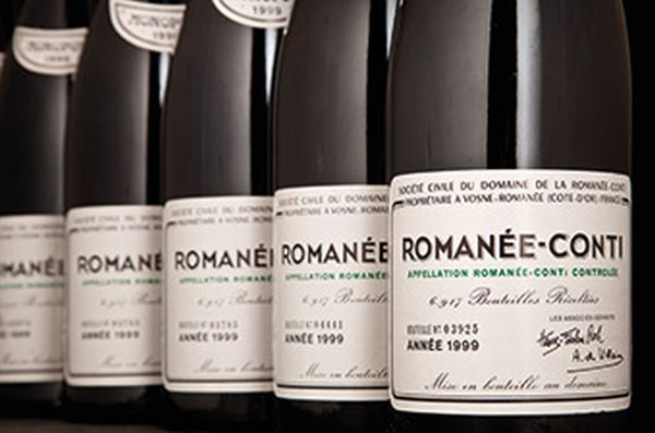 Bottles of Romanee-Conti