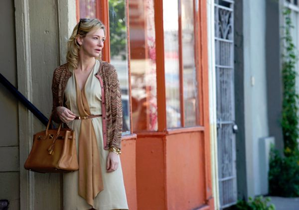 Kate Blanchet with the Birkin Bag in the film