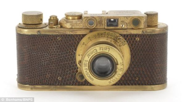 The 1932 Special Edition Leica Luxus II