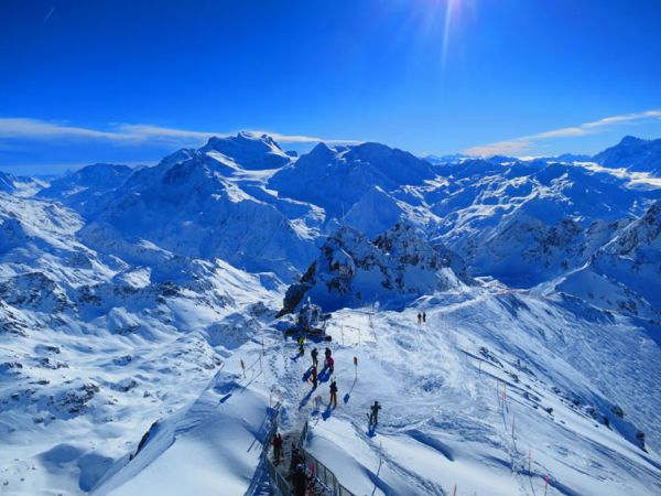 Ski Trails in Verbier