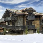 The Chalet is close to the Slopes