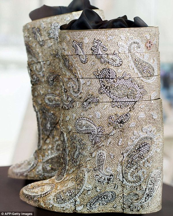 World's Most Expensive Boots