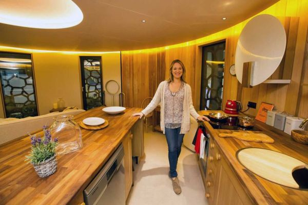 Bespoke Kitchen in the Treehouse