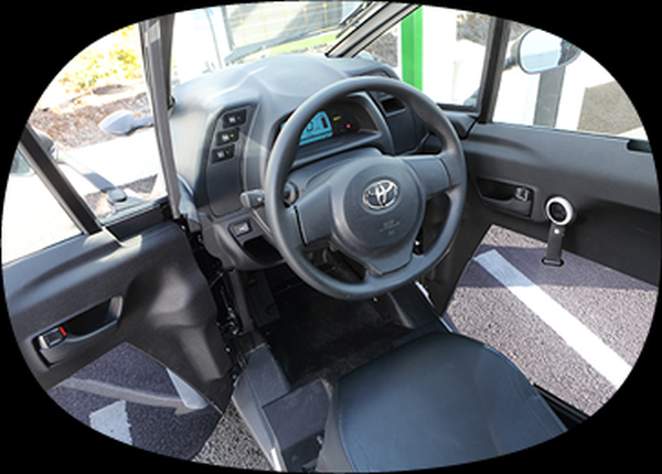 Interior of the Compact EV