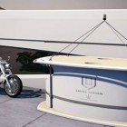 Motorcycle Garage on a Yacht