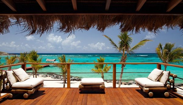 Richard Branson's Private Necker Island is part of the Itinerary