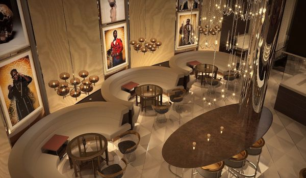 The David Furnish-owned Champagne bar FIZZ, in Las Vegas is about to open