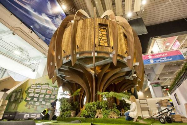 The Qiet Treehouse at the Exhibition