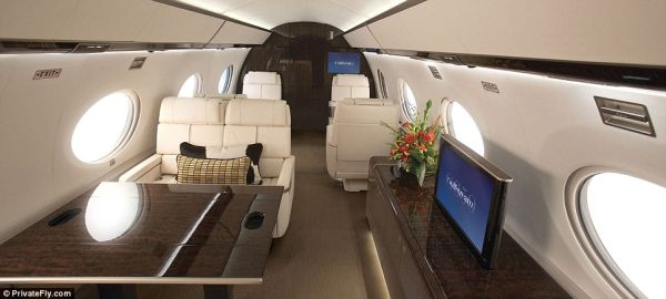 Luxurious Interior of G650