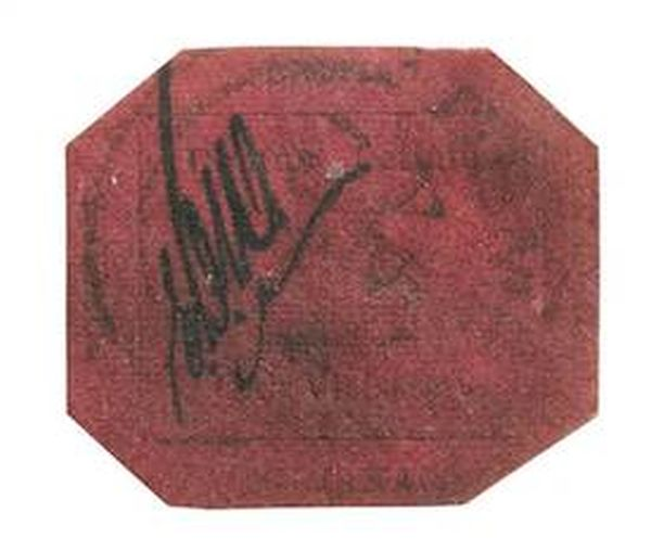 One Cent Magenta, the Most Valuable Stamp