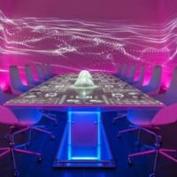 Table at Ibiza restaurant Sublimotion