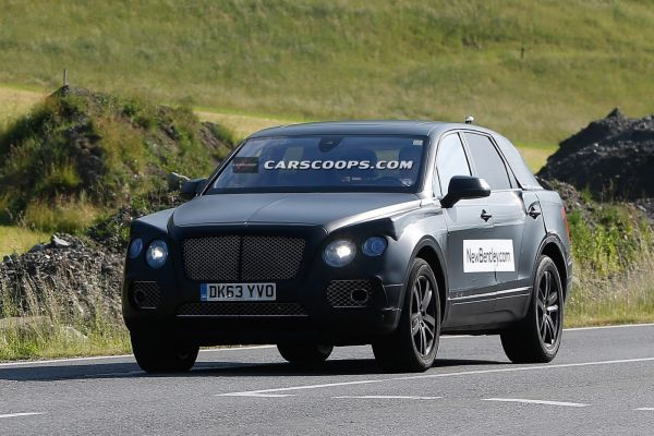 New-Bentley-SUV being Tested