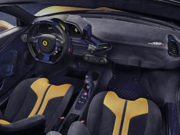 Cockpit of the Speciale A