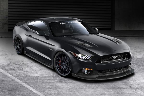 Hennessey Supercharged-717-hp-2015 Ford Mustang