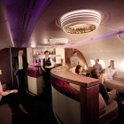 Lounge and Bar in the First Class Section