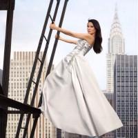 Lucy Liu Posing for the Mandarin Oriental Hotels