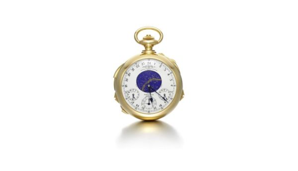 The Graves Supercomplication watch is up for Auction