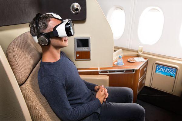 Samsung Qantas Gear VR