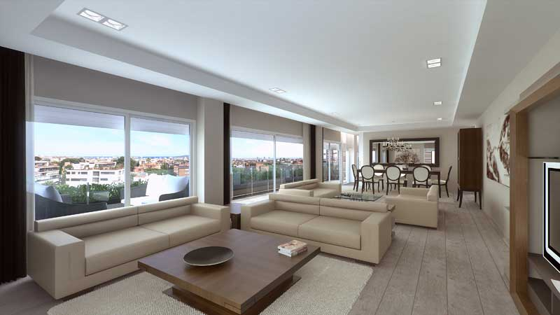 Live in Pedralbes: Luxury Apartments in Barcelona