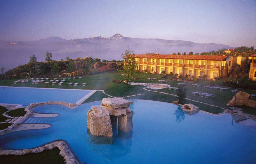 Experience the Waters at the Luxurious Adler Thermae Spa Resort