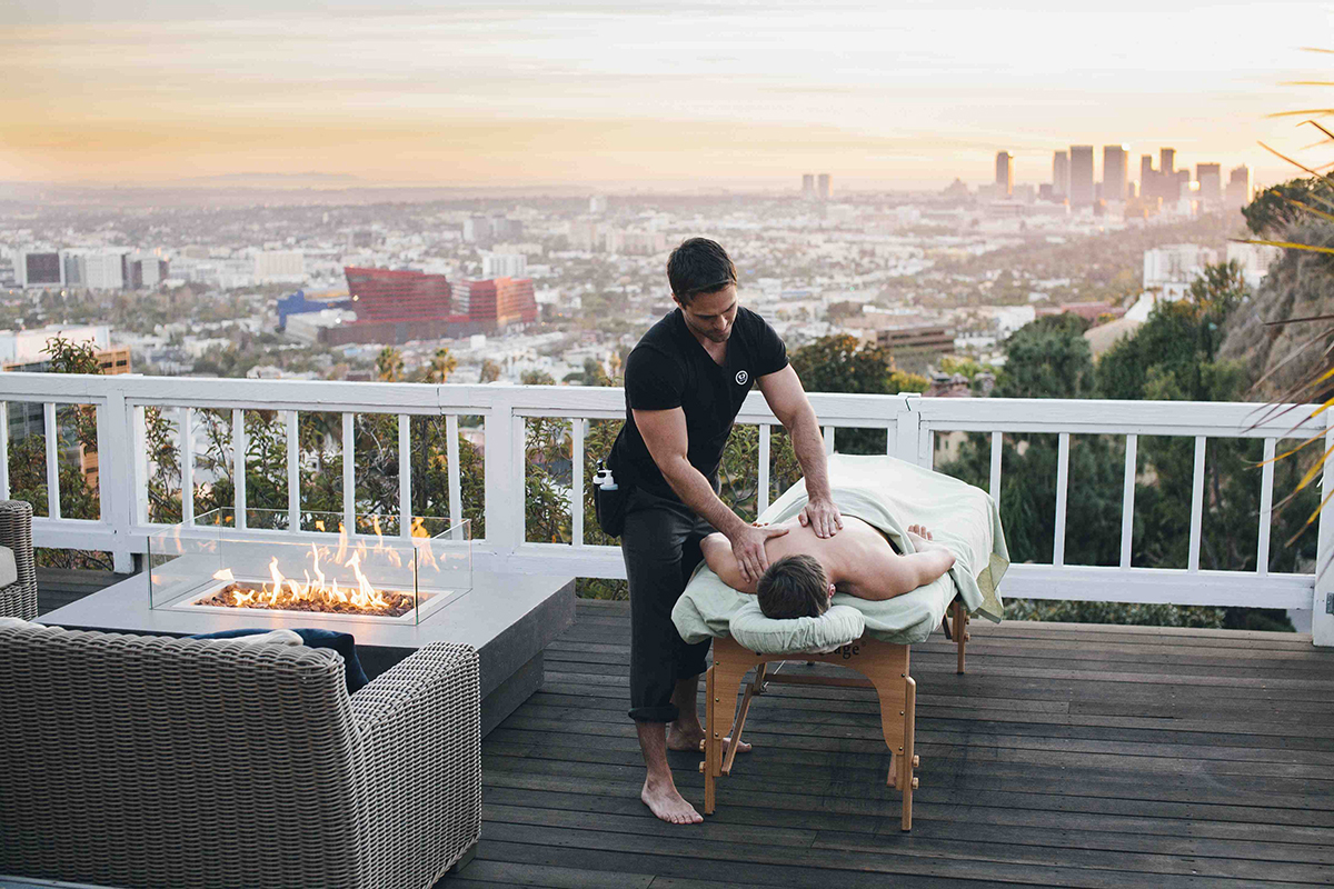 Soothe: On-Demand Massage App Brings Spa Home