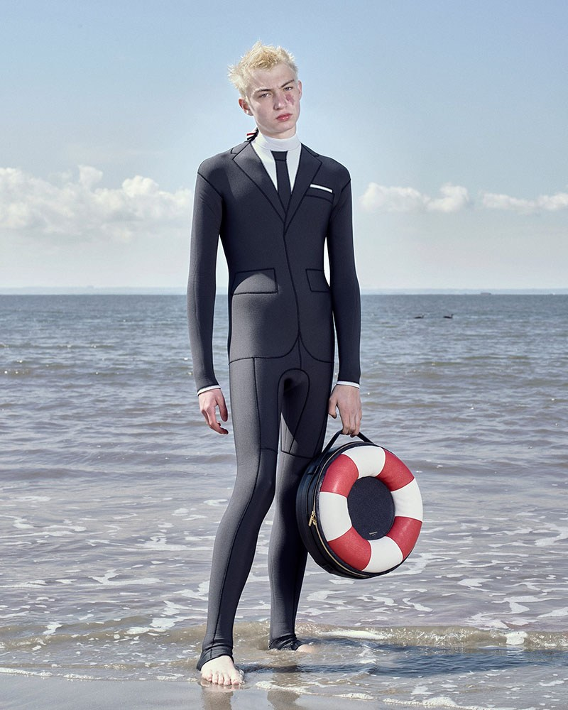 Surf Up with Thom Browne $3,900 Wetsuit